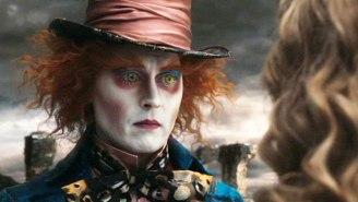 Johnny Depp Effectively Pranks Visitors At Disneyland As The Mad Hatter