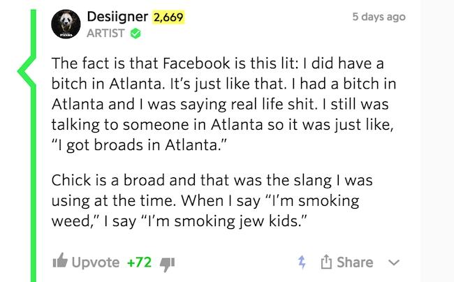 desiigner smoking jew kids