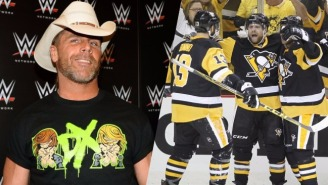There's An Unexpected Love Affair Developing Between Shawn Michaels And The Pittsburgh Penguins
