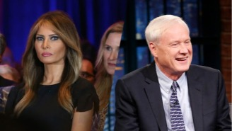 Melania Trump Gives A Telling Response When Asked About Chris Matthews' Creepy Comments