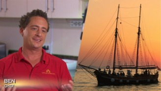 The Peculiar Challenges Of Cooking On A Yacht, With Chef Ben Robinson Of 'Below Deck Mediterranean'