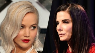 Sandra Bullock 'Ocean's 11' Reboot Might Get Jennifer Lawrence On The Team