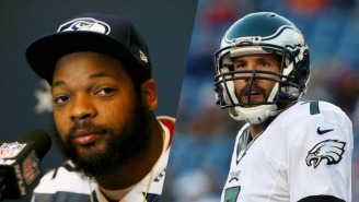 Michael Bennett Says He 'Almost Threw Up' Over How Sam Bradford Has Handled The Offseason