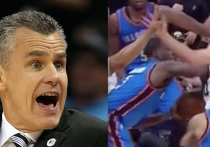 Thunder Coach Billy Donovan Claimed Complete Ignorance Of Dion Waiters' Inbounds Shove