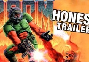 'DOOM' Murdered Robot Hitler And Now It Gets The Honest Trailer It Deserves