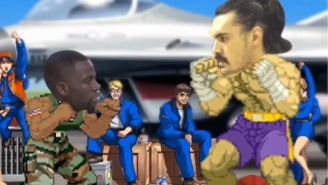 Draymond Green's Kicking Ability Gets The 'Street Fighter' And 'Mortal Kombat' Treatment