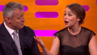 Emilia Clarke's Parents Watched That Fiery 'Game Of Thrones' Nude Scene, Too
