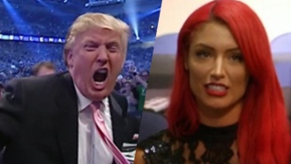 Eva Marie Makes A Diplomatic Case For Donald Trump's Love Of Mexicans