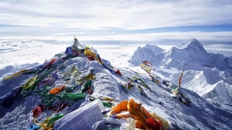 If You're Going To Climb Mount Everest, Why Not Snapchat The Journey?