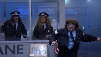 Maya Rudolph And Martin Short Fight Crime And Uncooperative Weather On 'Fallon'