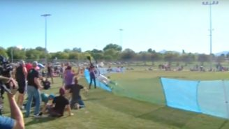 This Home Run Robbing Catch In A Softball Game Is Damn Impressive