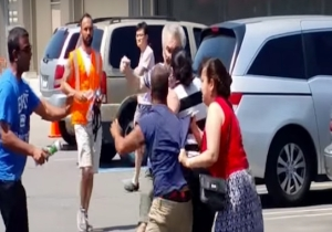 This Epic Memorial Day Battle In A Costco Parking Lot Could Be HBO's Next Miniseries