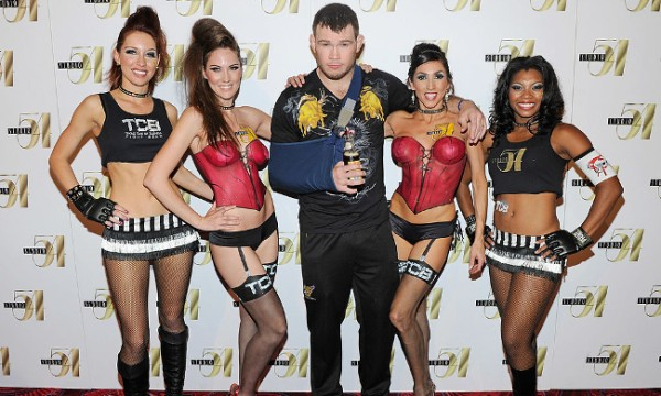 Forrest Griffin and some babes