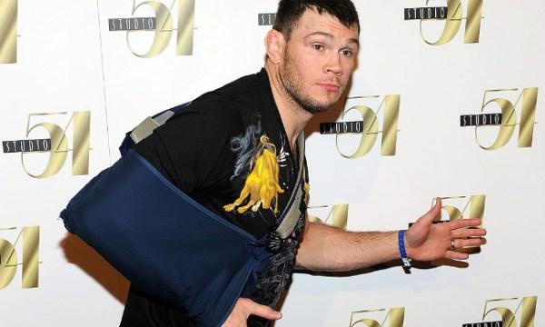 Forrest Griffin injured arm