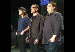 Watch Behind The Scenes Footage Of Fred Armisen And Courtney Barnett Taping Their 'Saturday Night Live' Promos