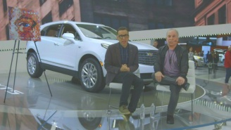 Fred Armisen And Paul Simon Hit Up A New York Auto Show In An 'SNL' Web Exclusive