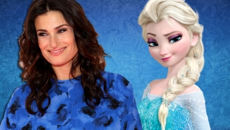 'Frozen' Star Idina Menzel Is Fine With Making Elsa Disney's First LGBT Princess
