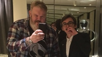 Hodor And Bran Eat Some Feelings, Share A 'Hold The Door' Cake