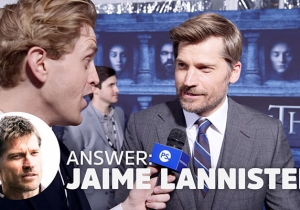 'Game of Thrones' Cast Members Play The Game of Butts And Nobody Dies
