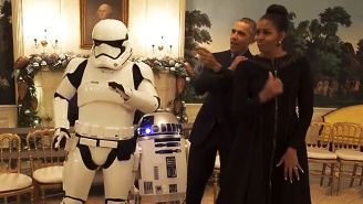 Barack And Michelle Obama Had A 'Star Wars' Dance Party To Celebrate May The Fourth