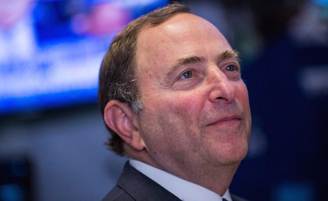 National Hockey League Launches Hockey Season At New York Stock Exchange