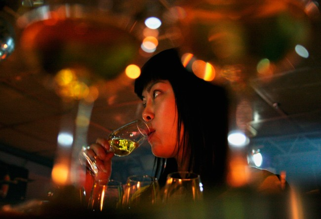 Whisky Tasting Party in China
