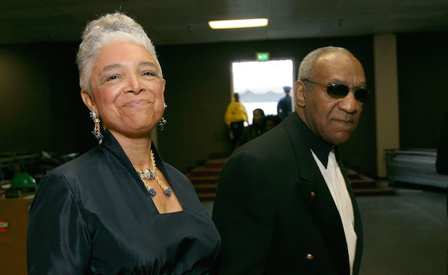 Camille Cosby Bill Cosby 38th Annual NAACP Image Awards - Backstage