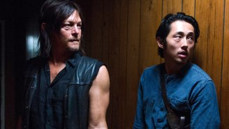 'Walking Dead' Stars Norman Reedus And Steven Yeun Save People In Real Life, Too