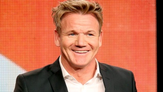 Leave It To Gordon Ramsay To Screw Up A Couple's Proposal By Prematurely Congratulating Them