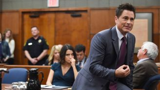 Rob Lowe Wants To Make Sure 'The Grinder' Keeps On Grinding Somewhere Else