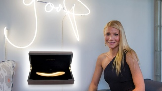 Gwyneth Paltrow Wants Us To Know She's Almost Too Punk Rock for Goop