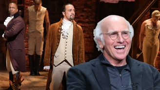 Larry David Says 'Hamilton' Sales Are Being Helped By White People Trying To Be Hip