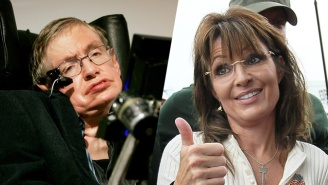 Not Even Stephen Hawking Can Explain The Rise Of Donald Trump, But Sarah Palin Can