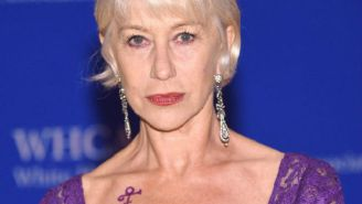 Helen Mirren Was A Walking Tribute To Prince At The The White House Correspondents' Dinner