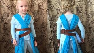 Possibly the Best (& Cutest) Disney/Star Wars Mashup Yet: Jedi Elsa Rey