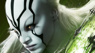 Our First 'Star Trek Beyond' Character Posters Give Face Time to Jaylah & Bones