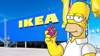 The Latest 'Simpson's' Couch Gag Sees Homer's IKEA-Style Struggle
