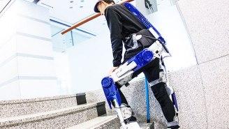 Hyundai Took Cues From 'Iron Man' To Create This Futuristic Exoskeleton