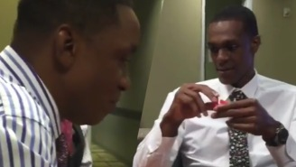 Watch Rajon Rondo Mercilessly Destroy Isiah Thomas In Connect Four