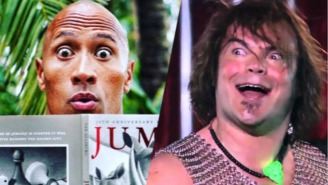 Dwayne Johnson Is Thrilled Jack Black Is Joining Him In The Upcoming 'Jumanji' Reboot