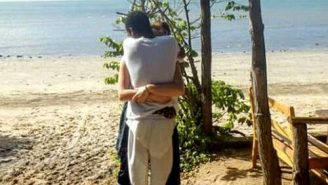 The Internet Can't Figure Out Who Is Hugging Who In This Viral Optical Illusion