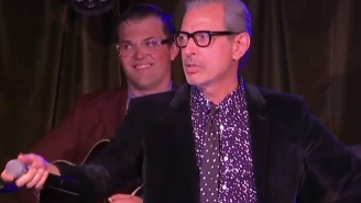 Life Finds A Way When Jeff Goldblum Performs A Live Musical On Facebook