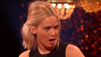 Jennifer Lawrence's Dance Floor Encounter With Harrison Ford Could Have Gone Better