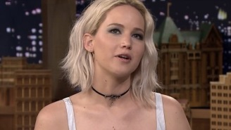 Jennifer Lawrence Once Got Into Major Trouble For Telling A Confused Crowd That Her Co-Star Died