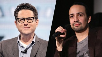 J.J. Abrams And Lin-Manuel Miranda Jammed Out For 'Star Wars' Day