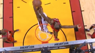 Josh Richardson's Dunk Over Bismack Biyombo Could Be The Playoffs' Best Poster