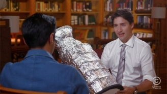 'The Daily Show' Presses Justin Trudeau On Syrian Refugees And Nickelback