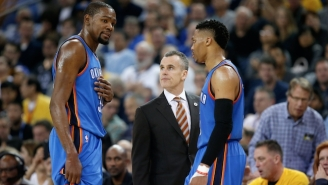Russell Westbrook's Unique Bond With His New Coach Is Revealed In This Game 4 Story