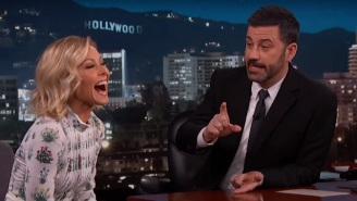 Jimmy Kimmel Will Serve As Kelly Ripa's First 'Live' Guest Host After Strahan Leaves