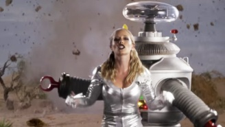 Kendra Wilkinson Has A 'Lost In Space' Themed Music Video And It's As Incredible As You'd Think